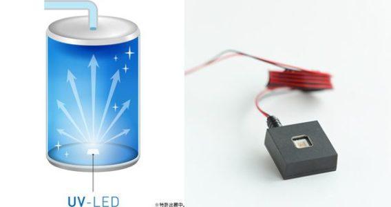 デュオミニのUV-LED殺菌機能