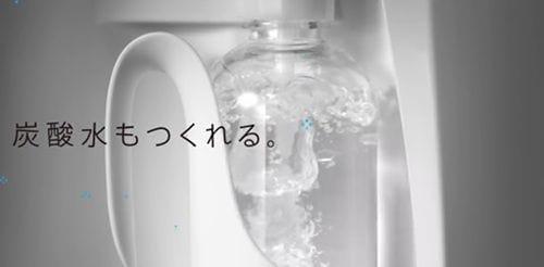 キララの炭酸水機能