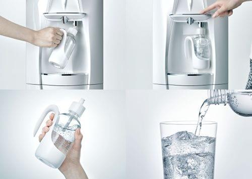 炭酸水は専用ボトルで作るスタイル